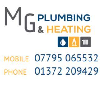 MG Plumbing & Heating logo