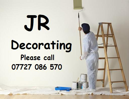 JR Decorating logo