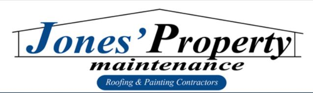 Jones Property Maintenance, Roofing and Painting Contractors logo