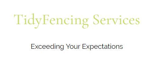 Tidy Fencing logo