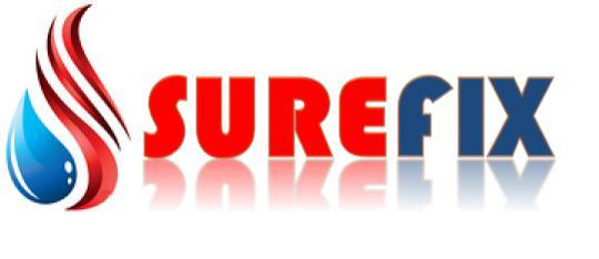 Surefix Plumbing & Heating logo