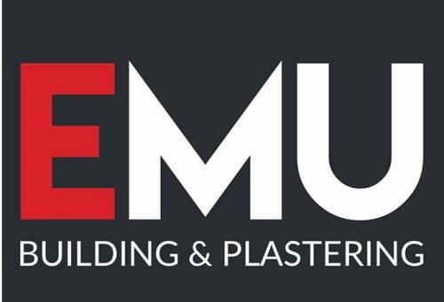 EMU Building & Plastering logo
