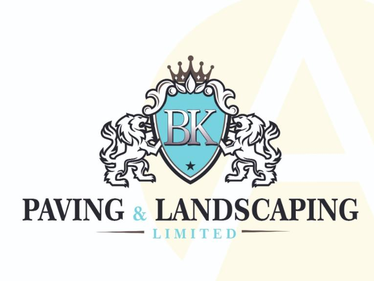 BK Paving and Landscaping logo