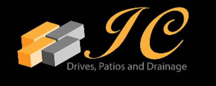 JC Drives and Patios logo