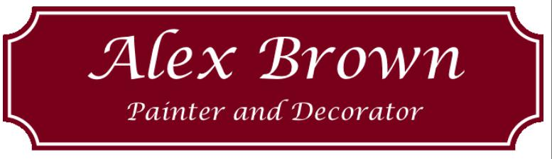 Alex Brown Painter and Decorator logo
