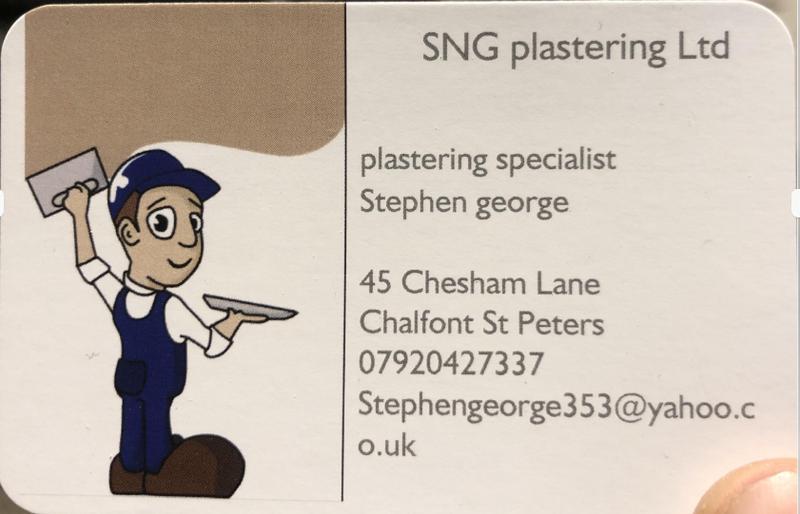 SNG Plastering Ltd logo