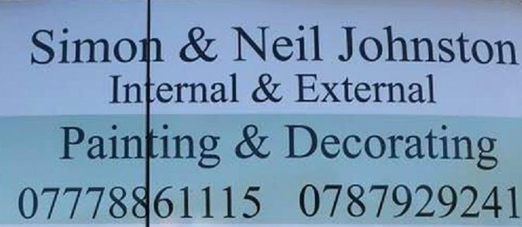 Simon and Neil Johnston Painters and Decorators logo