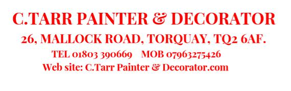 C.Tarr Painter & Decorator logo