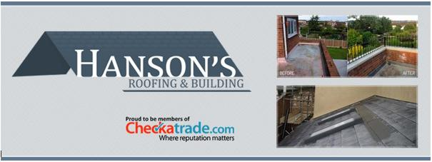 Hanson's Roofing & Building Ltd logo