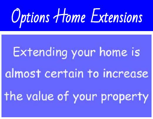 Options Home Extensions logo