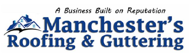 Manchester's Roofing & Guttering logo
