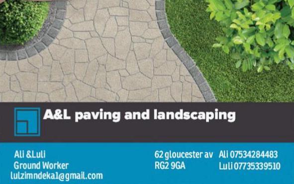 A&L Paving logo