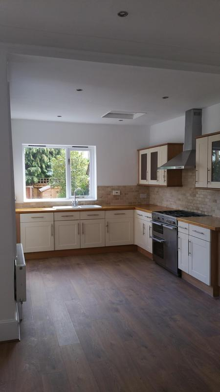 Image 117 - KITCHEN - ENGINEERED OAK FLOOR INSTALLATION