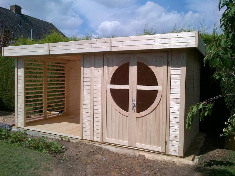 Image 43 - Completion of new shed