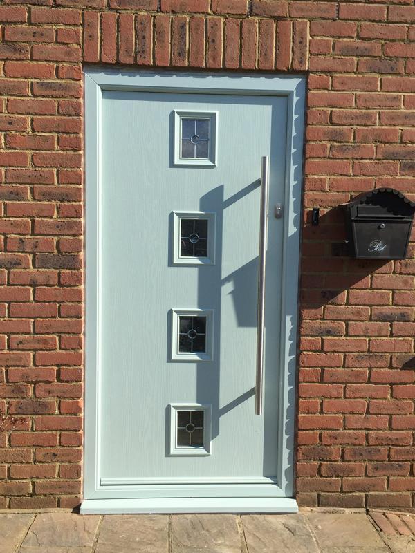 Image 4 - Composite Door, Slam Lock and Bar handle
