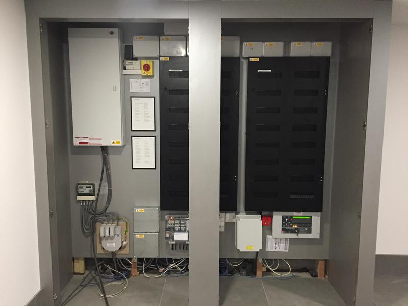 Image 3 - Fuse Board & Lighting control panels at Coombe Ridings