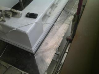 Image 9 - Lead cornice installation