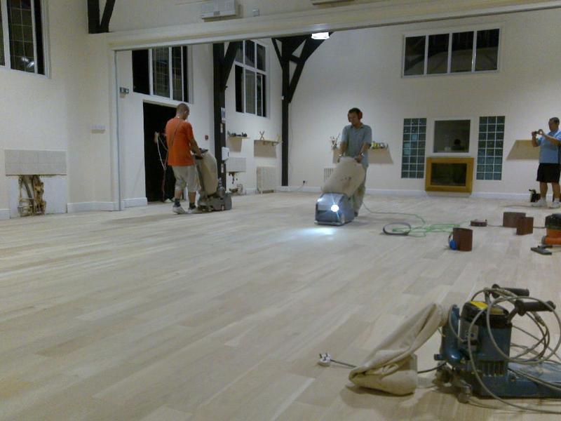 Image 1 - Nursery floor sanding- crickelwood