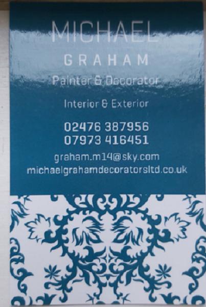 Michael Graham Decorators Ltd logo