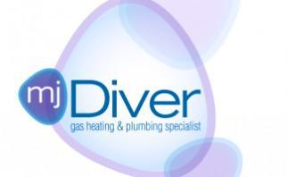 MJ Diver Gas Heating & Plumbing Specialist logo