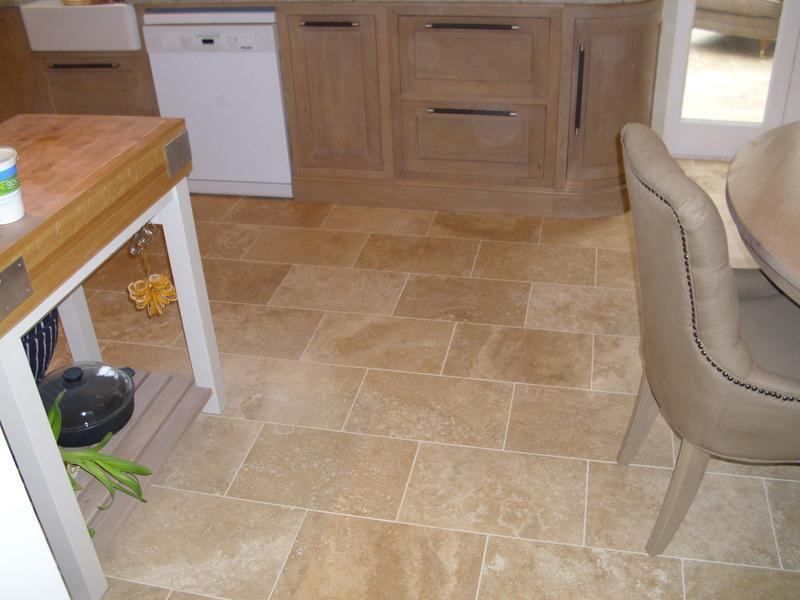 Image 1 - Filled and honed Travertine
