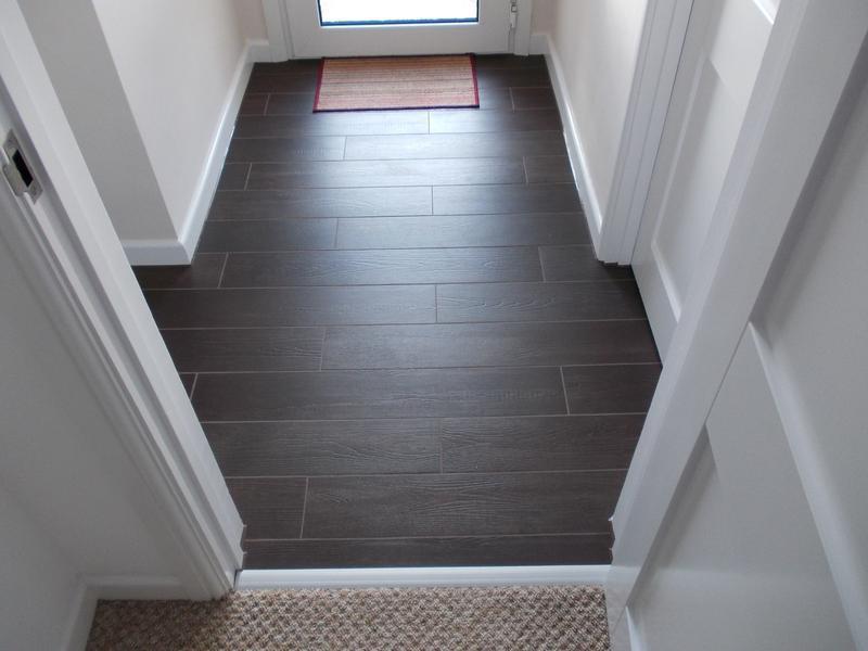 Image 17 - Wood effect tiles.