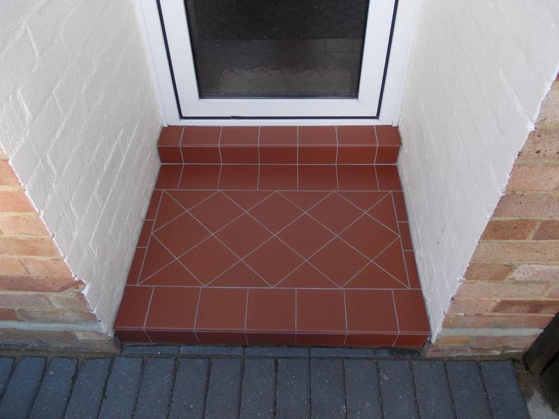"""Image 7 - Terracotta 6"""" tiles."""