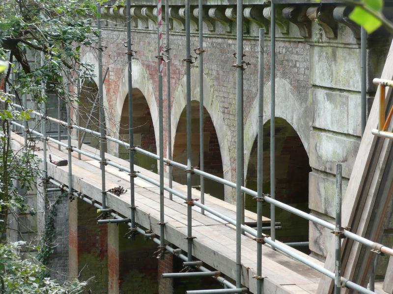 Image 13 - Repointing viaduct at Hampstead Heath - before