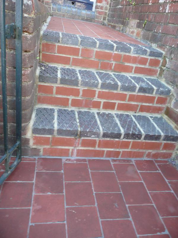 Image 12 - Berkhamstead - steps and path completed using reclaimed materials