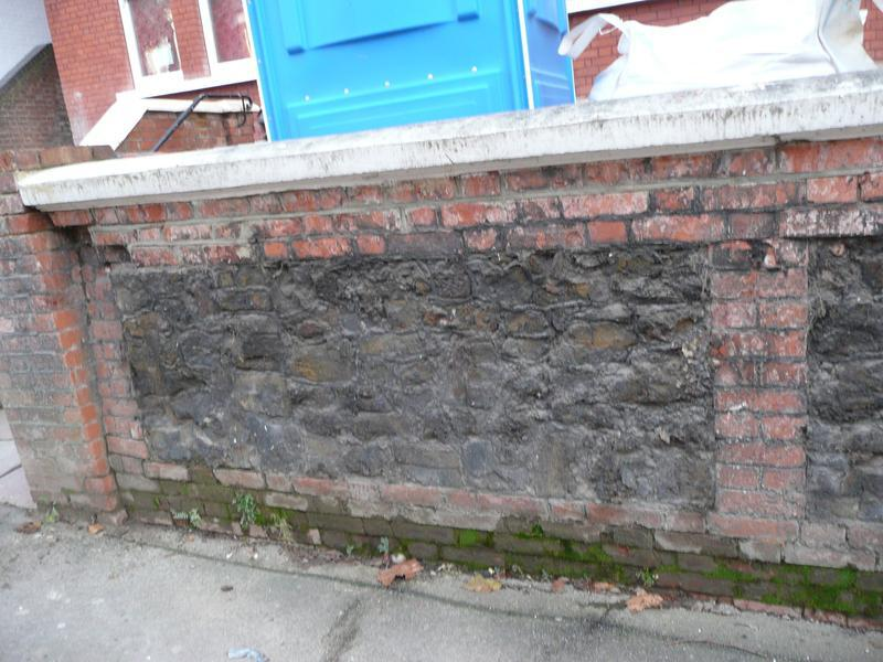 Image 15 - Hampstead - wall before