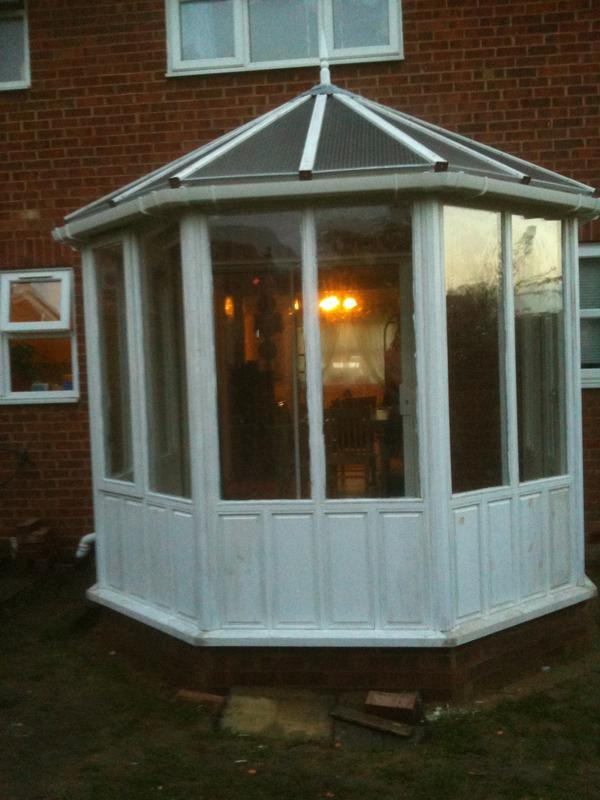 Image 4 - Completed wooden frame conservatory