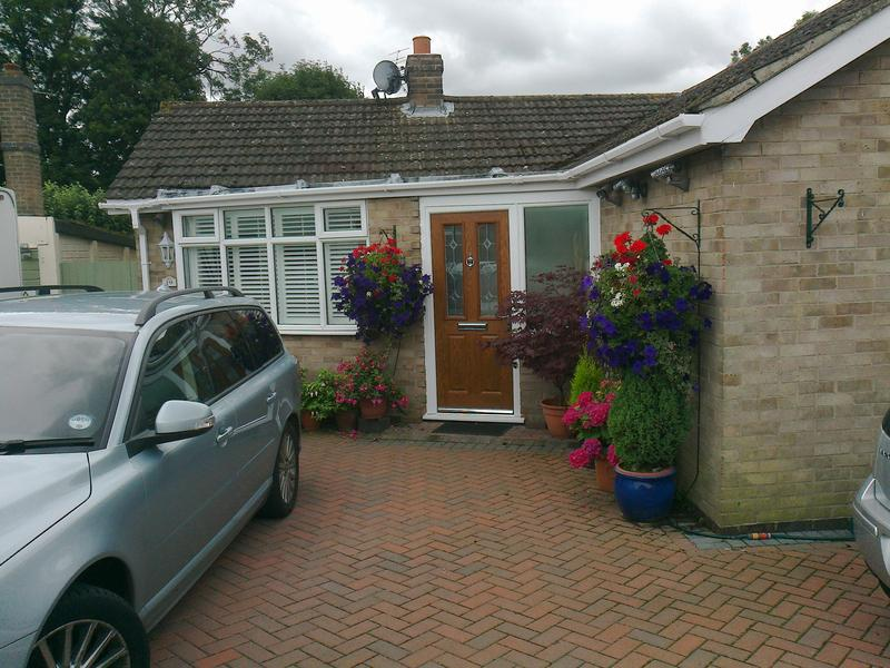 Image 29 - compisite door and upvc side frame supplied and fitted