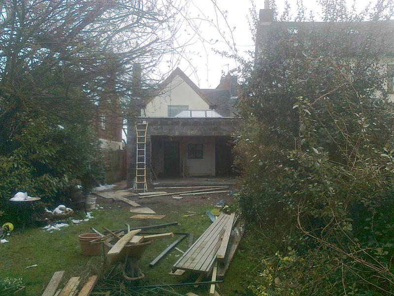 Image 31 - 4 metre by 6 metre exstension with atrium roof light for mr and mrs adams