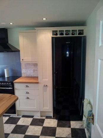 Image 19 - anothe angle of sues kitchen netherseale derbyshire