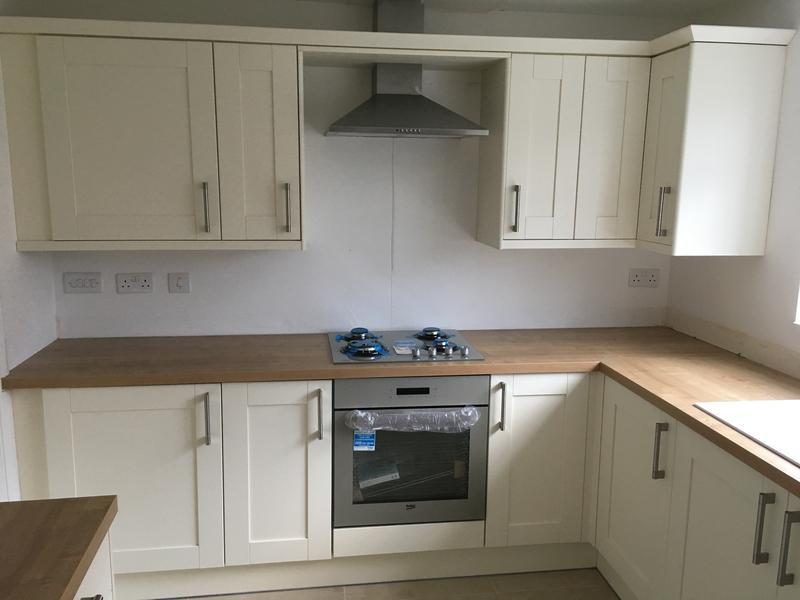 Image 14 - A nice view of the cooking station with the extractor shef running through