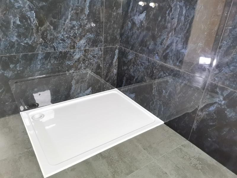 Image 12 - Shower tray installation