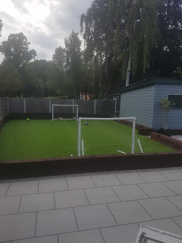 Image 131 - Astro turf fitted