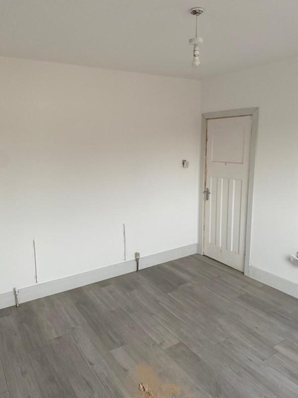 Image 11 - Salford - Bedroom refurb - Walls re-plastered, painted and new flooring - 2021
