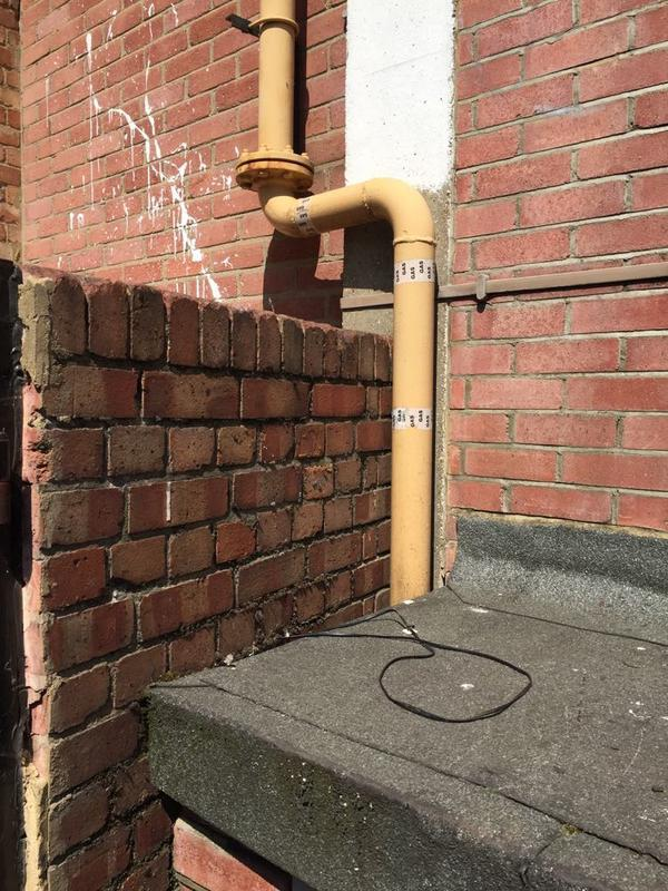 Image 16 - Faulty Gas Pipework 1 of 3