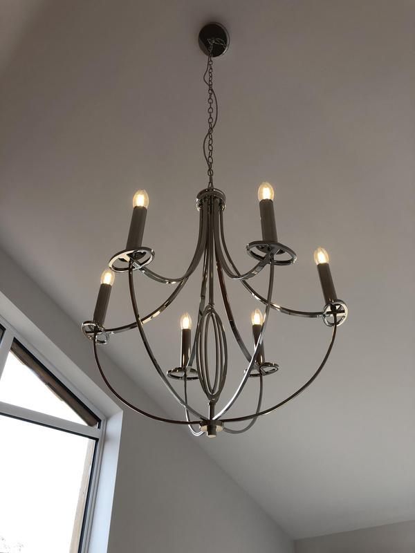 Image 3 - Light fitting installation