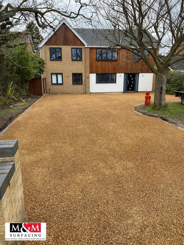 Image 14 - Tar and chip driveway completed in Lowestoft