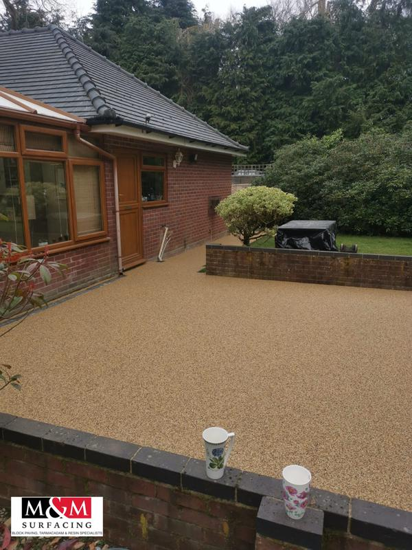 Image 23 - Resin bound patio complete in spring haze