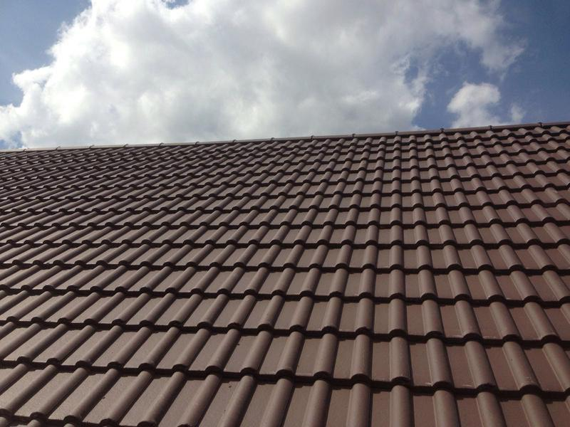 Image 2 - Brown Double Roman roof tiles, complete new roof.