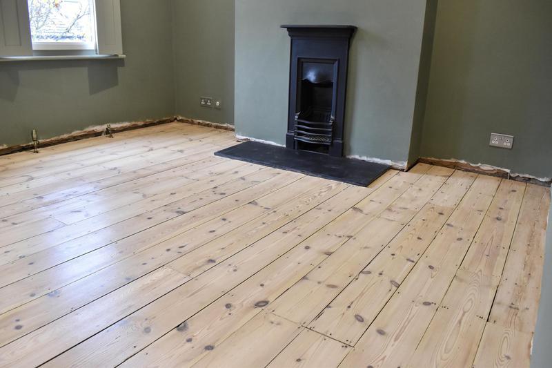 Image 1 - Pine Floor reatored