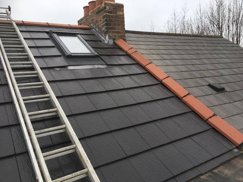 Image 12 - New roof installed with velux windows