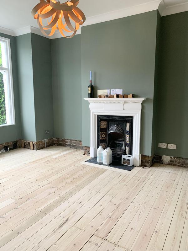 Image 16 - Pine floor restored