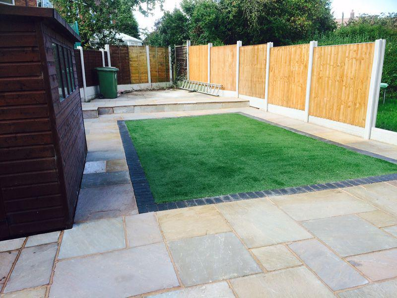 Image 23 - landscaping project, turfing, paving, fencing