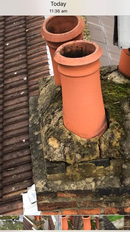 Image 21 - before chimney repairs