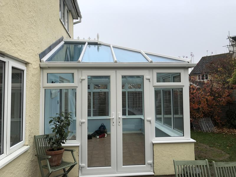 Image 110 - Glass roof conservatory