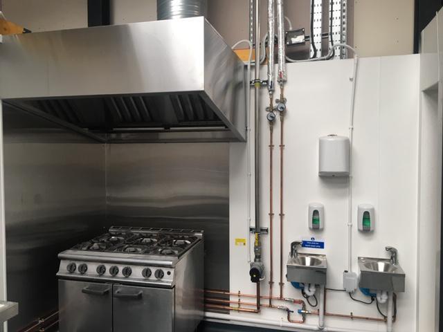 Image 31 - Commercial Range Cooker installed LPG